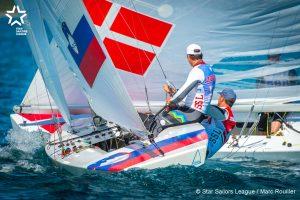 Bow: 95 // Sail: SLO 8220 // Skipper: Vasilij Zbogar SLO // Crew: Zsombor Bercz HUN